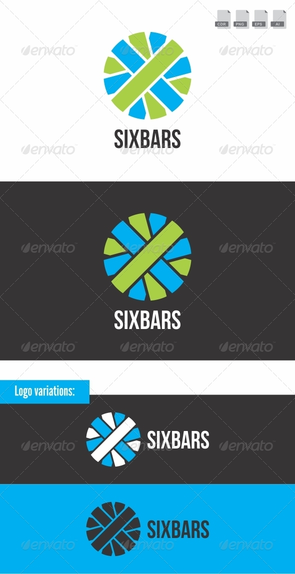 Sixbars - Objects Logo Templates