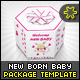New born Baby Gift Package - GraphicRiver Item for Sale