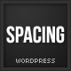 Spacing: Responsive, Minimal & Bold WP Theme - ThemeForest Item for Sale