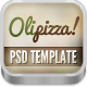 Olipizza - Really tasty PSD theme in 4 colors - ThemeForest Item for Sale