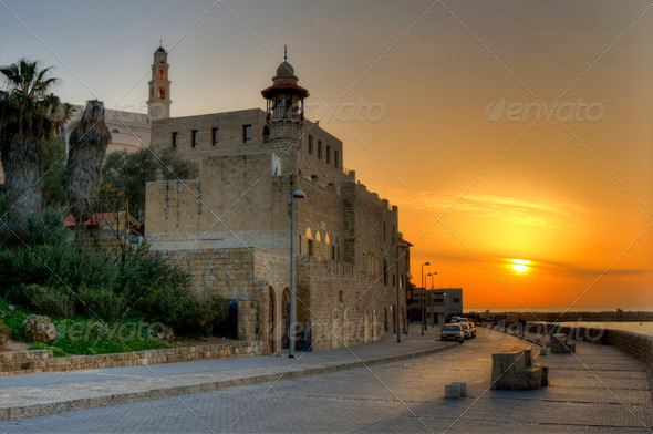 Old Jaffa in Tel Aviv, Israel - Stock Photo - Images
