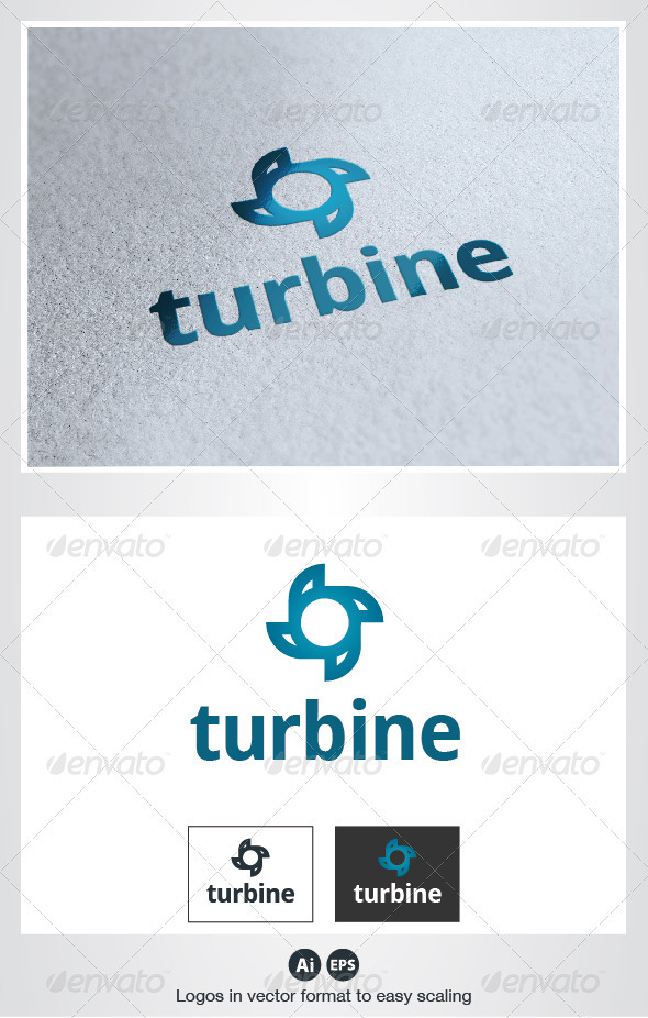 Turbine Logo - Objects Logo Templates