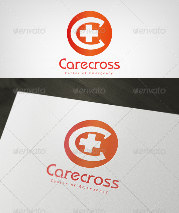 Carecross - Letters Logo Templates
