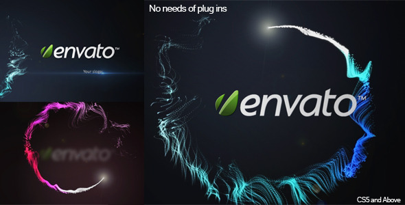 After Effects Project - VideoHive Shining Particles 2659293