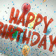 Happy Birthday Balloons - VideoHive Item for Sale