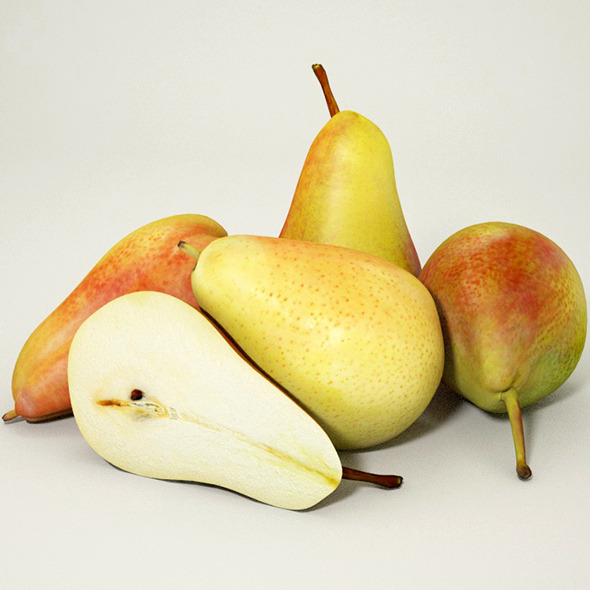 Pears - 3DOcean Item for Sale