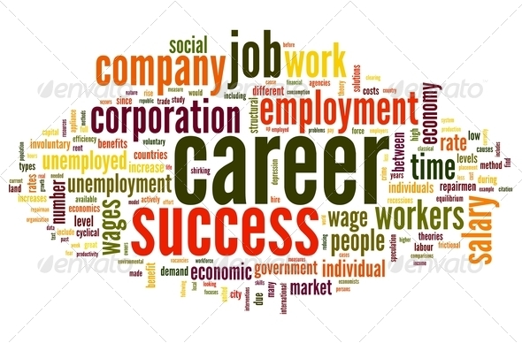 Career concept in word tag cloud Stock Photo by olechowski ...
