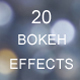 20 Bokeh Effect Backgrounds - GraphicRiver Item for Sale