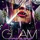 Glam Party Template Flyer - GraphicRiver Item for Sale