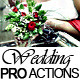 20 Wedding Pro Actions - GraphicRiver Item for Sale