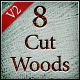 8 Cut Wood Textures Pack2 - GraphicRiver Item for Sale