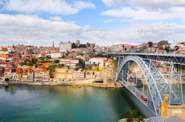 Dom Luis I bridge - Stock Photo - Images