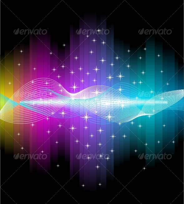 GraphicRiver Electric light effect background 96444