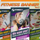 Fitness Banner Vol.2 海报PS-Graphicriver中文最全的素材分享平台