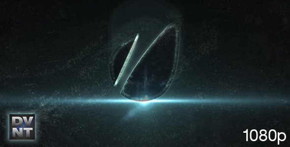 VideoHive Echo Glass Logo Stinger 2668548