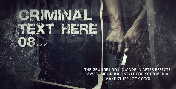 VideoHive Crime Scenes 2670292