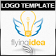Flying Idea Logo Template - GraphicRiver Item for Sale