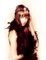 Retro showgirl in feather boa - PhotoDune Item for Sale