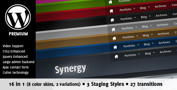 Synergy Premium Portfolio and Blog