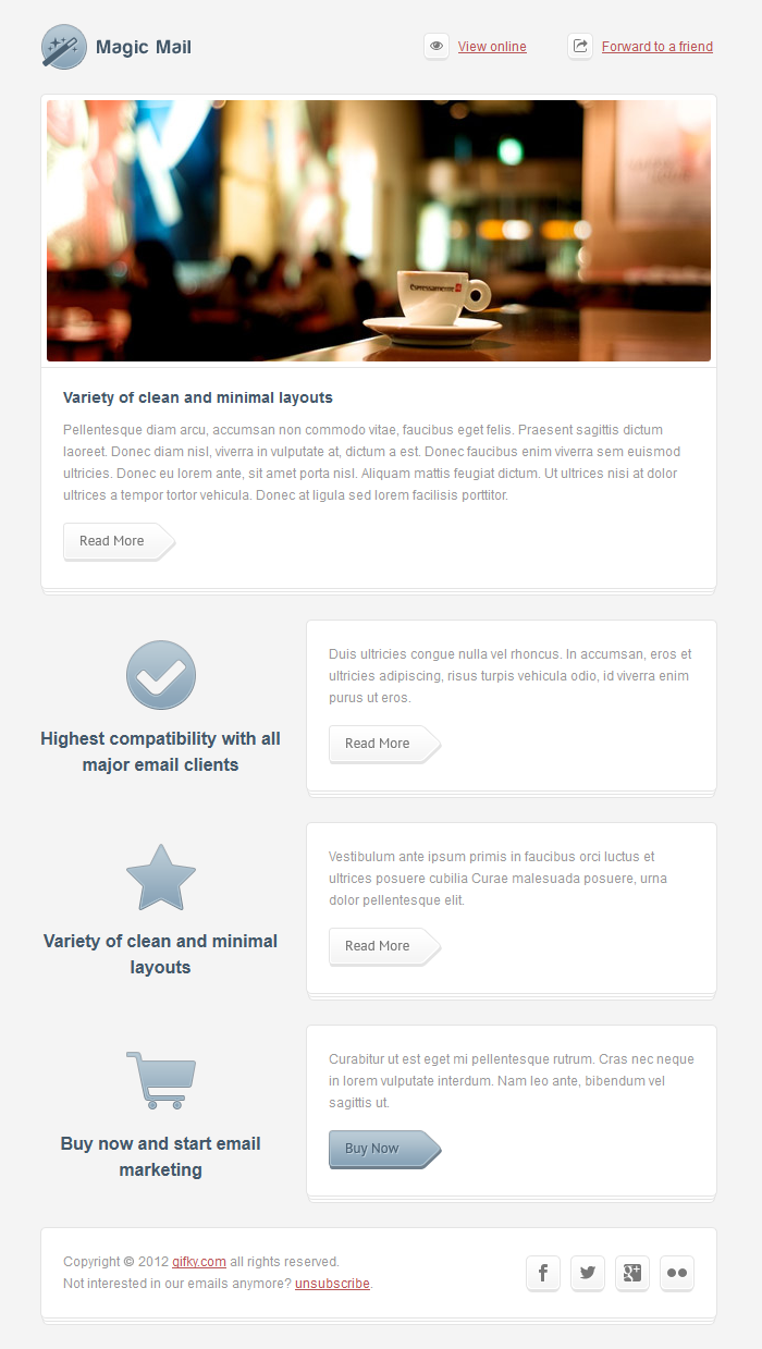 Magic Mail - Email Template