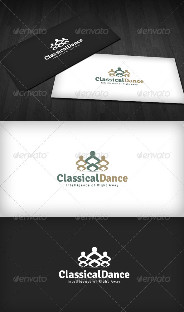 Classical Dance Logo - Humans Logo Templates