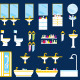 Bathroom equipment set - GraphicRiver Item for Sale