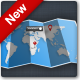 Fold-Up Map - GraphicRiver Item for Sale