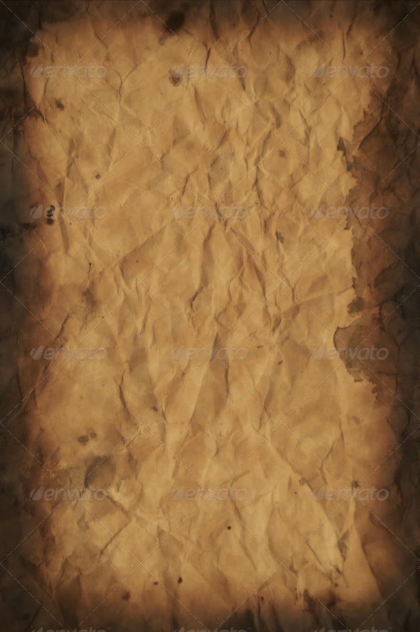 Old Paper Texture / Background - Stock Photo - Images