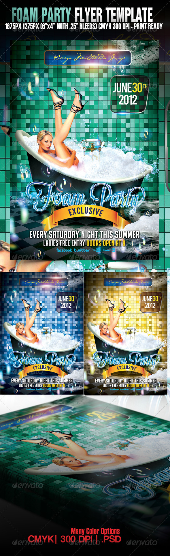 Foam Party Exclusive - Clubs & Parties Events
