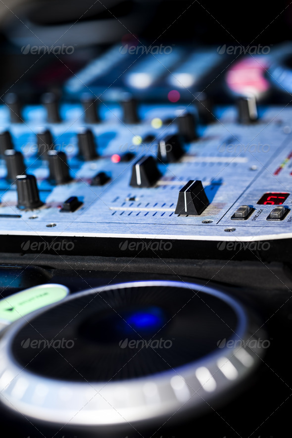 DJ Mixer - Stock Photo - Images