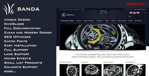 ThemeForest Banda Modern Shop 2483281