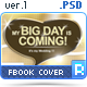 Facebook Cover - Future Timeline 1 - BigDay - GraphicRiver Item for Sale