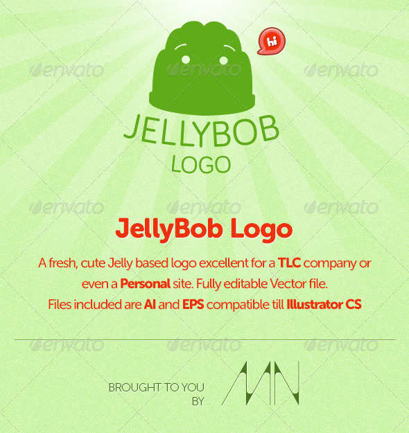 Jelly Bob Logo - Food Logo Templates