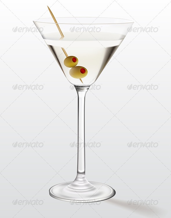 Martini  - Food Objects