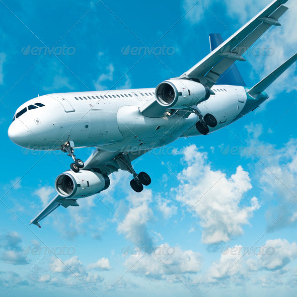 Jet aircraft - Stock Photo - Images