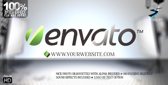 After Effects Project - VideoHive Your Photo Studio Logo 2683347