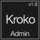 Kroko Admin - Responsive Template - ThemeForest Item for Sale