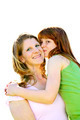 Mother And Daughter Hugging - PhotoDune Item for Sale