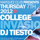 College Invasion Flyer  - GraphicRiver Item for Sale