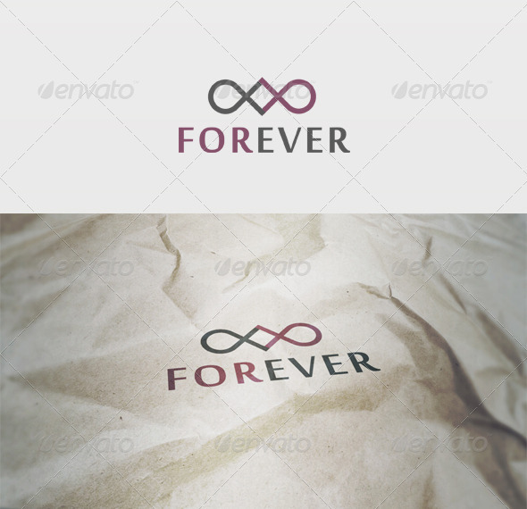 Forever Logo - Vector Abstract