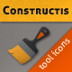 Constructis tools iconset - GraphicRiver Item for Sale