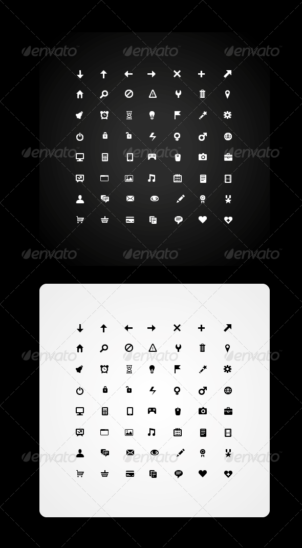 56 Icon Set  - Web Icons