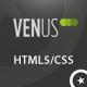 Venus: Business & Portfolio HTML Theme - ThemeForest Item for Sale