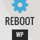 Reboot - Responsive Portfolio WordPress Theme  - ThemeForest Item for Sale