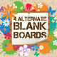 Boards with Flowers and Splash - GraphicRiver Item for Sale