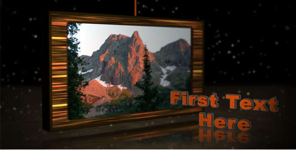 After Effects Project - VideoHive Rustic 3D Screens 97390