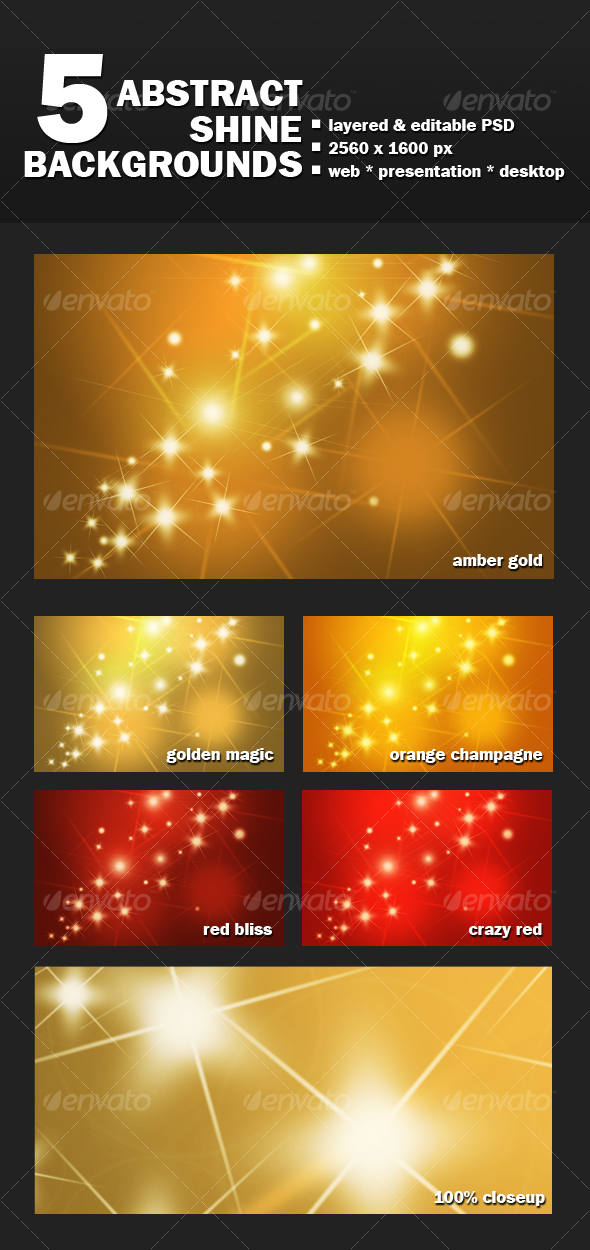Abstract Shine Background - Abstract Backgrounds