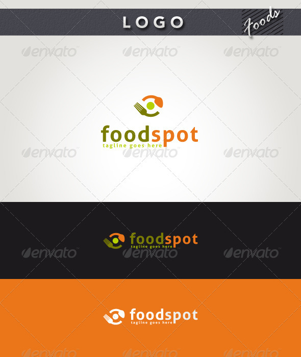 GraphicRiver Food Spot Logo 2694478