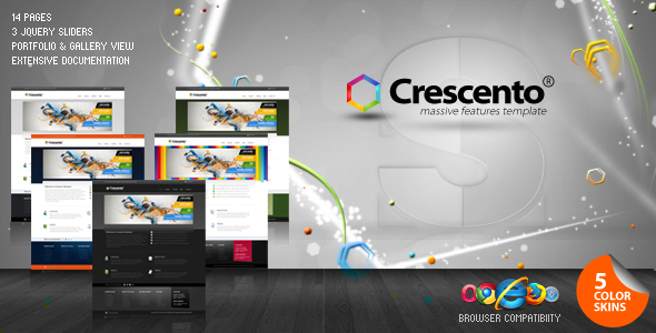 Crescento - Business and Portfolio Theme