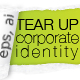 TEAR UP - Corporate Identity - GraphicRiver Item for Sale